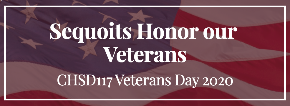 Sequoits Honor Our Veterans