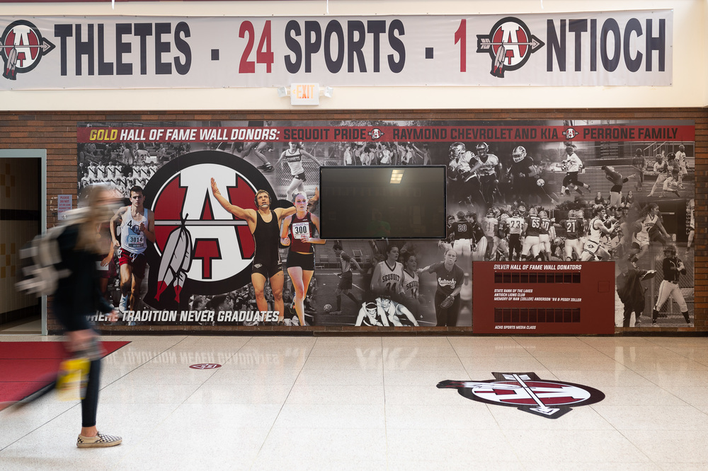 ACHS Athletic Department Achievement Display