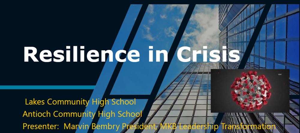 ​  Resilience in Crisis: Presentation by Dr. Marvin  Bembry