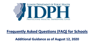 Illinois Department of Health Releases Additional Guidance For Schools