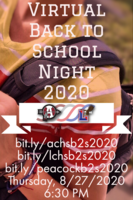 Virtual Back To School Night