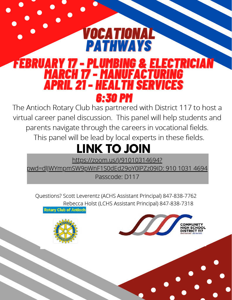 Career Panel - Plumbing & Electrician Feb 17, 2021 at 6:30pm