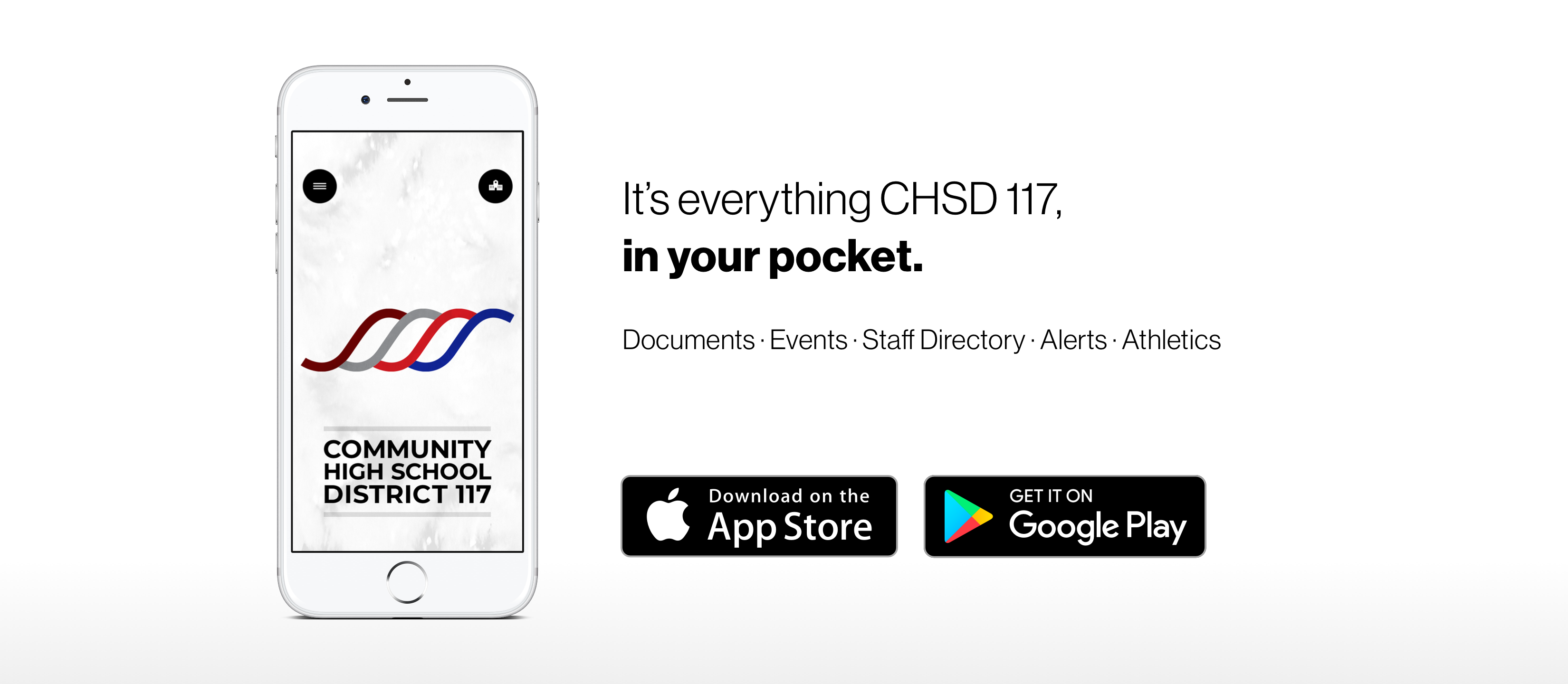 CHSD117 Mobile App Marketing Image